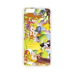 Snow White and Seven Dwarfs For iPhone 6 Plus 5.5 Inch Case Cell phone Case Ifxl Plastic Durable Cover