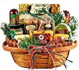 Holiday Comforts | Meat, Cheese & Nuts | Christmas Gift Basket