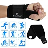 Multi-Functional Wrist Brace Design Carpal Tunnel Fitted Right or Left Thumb Stabilizer Support for Volleyball Tennis Weightlifting, Bowling Accessories Wrist Compression (One Size Fits Most)band