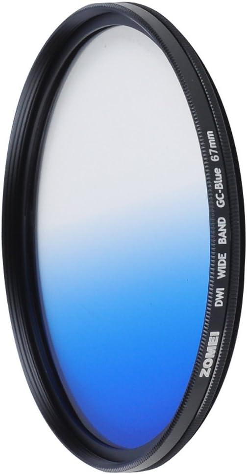 ZOMEI 72mm Ultra Thin Grey GC Graduated Gray Gradual Neutral Density Lens Filter