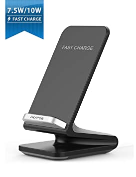 MuSheng Ladegerät Cargador inalámbrico 2 en 1 para Samsung Galaxy Note 9 /S8 S9 Note 8 / Note 7, Carga rápida para iPhone 8/8 Plus/X/XS/XS MAX/XR