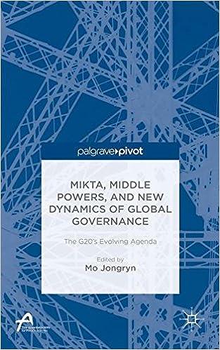 MIKTA, Middle Powers, and New Dynamics of Global Governance: The G20's Evolving Agenda (Asan-Palgrave Macmillan Series)