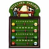 """RAM Gameroom Products Pub Sign Scoreboard, """"Billiard Parlour"""""""