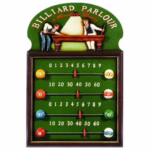 - RAM Gameroom Products Pub Sign Scoreboard, Billiard Parlour