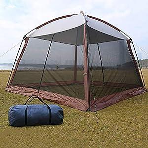 LOY 5-8 Tenda per i Popoli della Famiglia con Migliore Ventilazione e Anti-zanzara, Impermeabile e UPF 50+ di Gazebo da… 2 spesavip