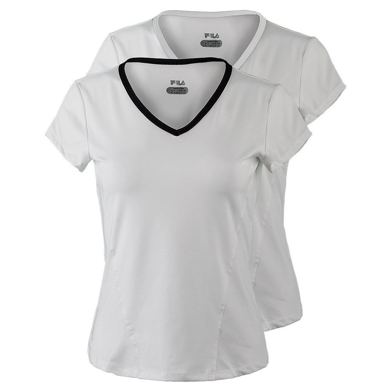 Fila Women's Core Short Sleeve Top Tennis Shirt