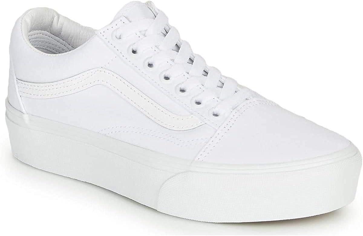 Vans Old Skool Platform - True White