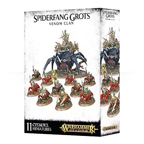 Jeux Atelier 99120209041Spiderfang Grotz Venom Clan miniature