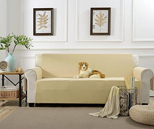 Aidear Anti Slip Sofa Slipcovers Jacquard Fabric Pet Dog