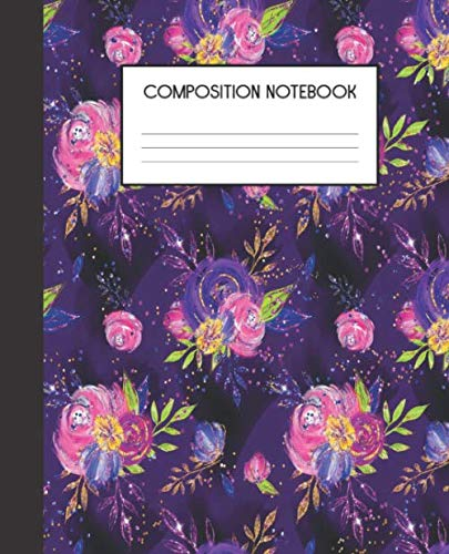 Composition Notebook: Halloween Kids  Wide Ruled Notebook | Lined Journal | 100 Pages | 7.5 x 9.25