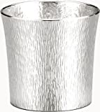 Osaka Naniwa Suzuki, Pure Tin, Japanese Hand-made Tumbler Funnel 390ml/24-3-1 ,w/original wooden box (Large)
