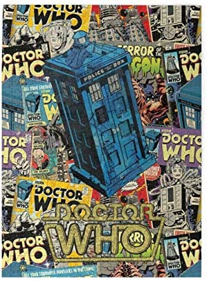 Sadfqw Doctor Who Puzzle 500 Pieces for Adults Wooden Jigsaw Puzzle for Teens Puzzles Game Toy Gift Decompression Toys 500pcs