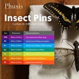 Phusis Stainless Steel Insect Pins - Size #00 - Set