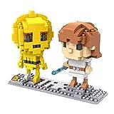 LOZ Diamond Blocks Star Wars Series - Luke and 3CPO 9532