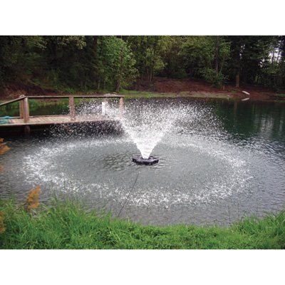 Kasco Aerating Fountain - 3/4 HP, 240V, 250-Ft. Cord, Model# 3400HVFX250
