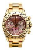 Rolex Daytona Yellow Gold Bracelet Watch 116528