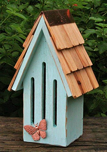 - Heartwood 198C Butterfly Breeze House in Sky Blue Finish