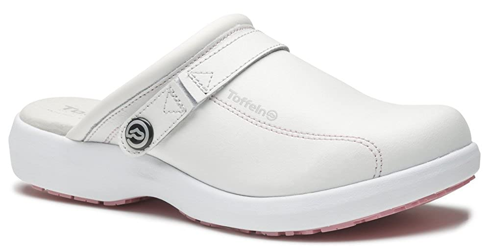 World of Clogs.com Toffeln Ultralite 0699 Enfermeras Zuecos - Blanco, 41 EU (7 UK)