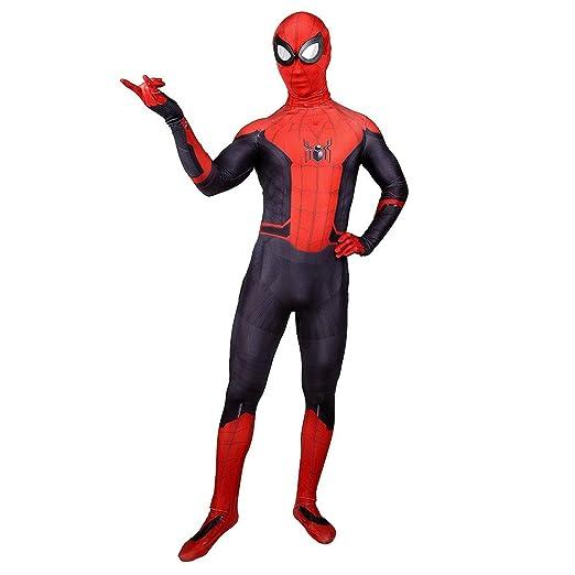 Spider-Man Lejos de casa Cosplay Disfraz Adulto Unisex Hombres ...