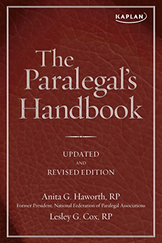 The Paralegal's Handbook: A Complete Reference for All Your Daily Tasks (Kaplan Test Prep)