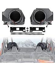 UTV Audio Bracket Polaris RZR PRO XP, SAUTVS Rear Speaker Enclosure for Polaris RZR PRO XP 4 2020-2021 Accessories (2PCS)