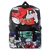 YOYOSHome Inuyasha Anime Sesshomaru Cosplay Rucksack Backpack School Bag