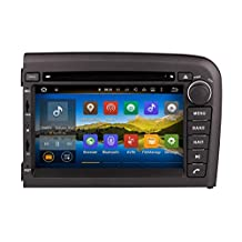 XTTEK 7 inch HD 1024x600 Multi-touch Screen in dash Car GPS Navigation System for Volvo S80 1998-2006 Quad Core Android DVD Player+Bluetooth+WIFI+SWC+Backup Camera+North America Map