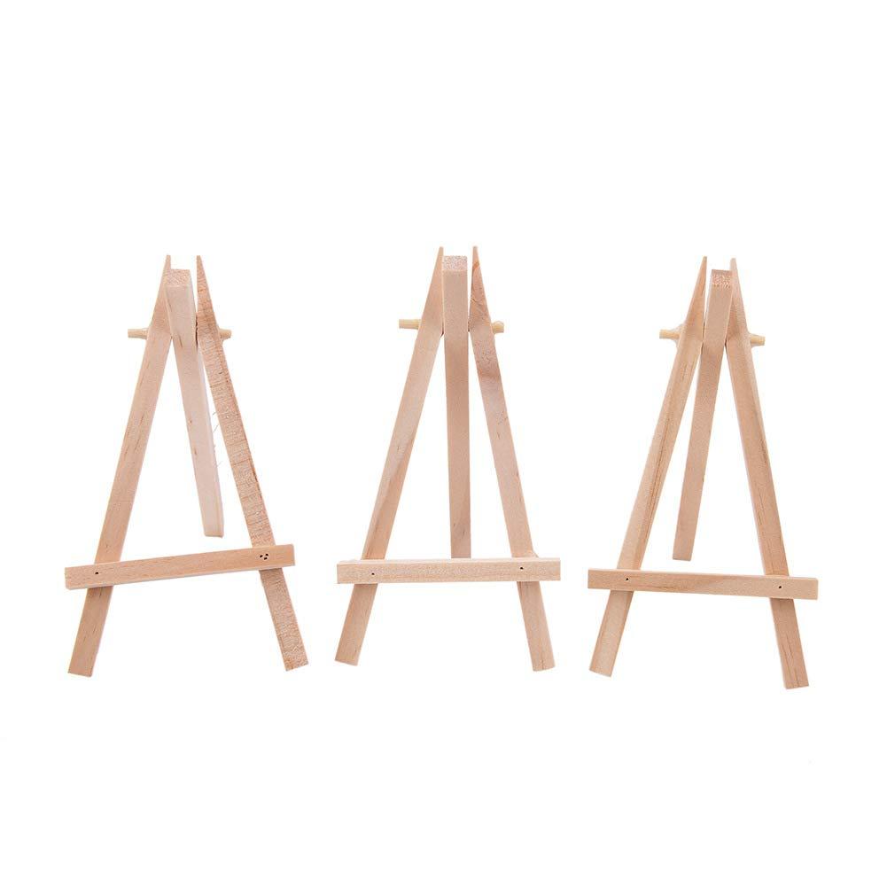 SDGDFXCHN Peque/ño Caballete Creativo Mini tri/ángulo Soporte decoraci/ón de Madera Herramientas de Bricolaje