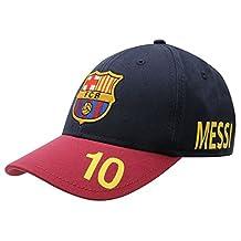 Official FC Barcelona BaseBall Junior Cap Lionel Messi 10