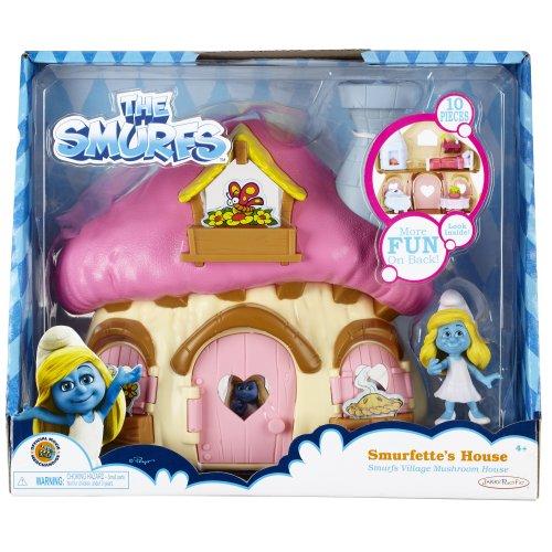 Smurf Mushroom (Smurfs Mushroom House with Smurfette)