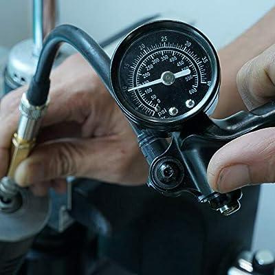 Nicecnc Nitrogen Needle Kit with Needle Head Replace RZR's, Arctic Cat,Ohlins,Raptor truck shocks,Fox UTV,snowmobile shocks: Automotive