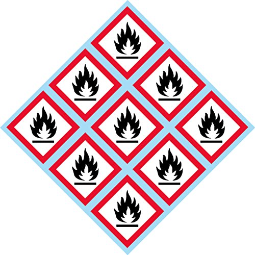 GHS Flame, Fire, Pictogram, 2