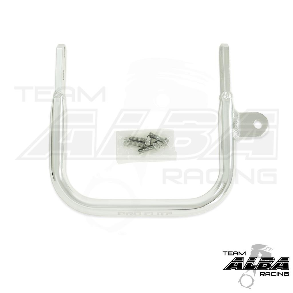 Yamaha Raptor 660 (2001-2005) ATV Rear Grab Bar Bumper Silver