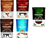 Fruitables Jerky Treats Variety Pack (Whole Jerky, Pack of 5 (5oz bags))
