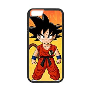 iPhone 6 Plus 5.5 Inch Cell Phone Case Covers Black Goku wnon