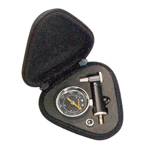 Topeak Shuttle Gauge Präzisions Manometer analoger Reifendruck Prüfer inkl. Tasche, 15712005