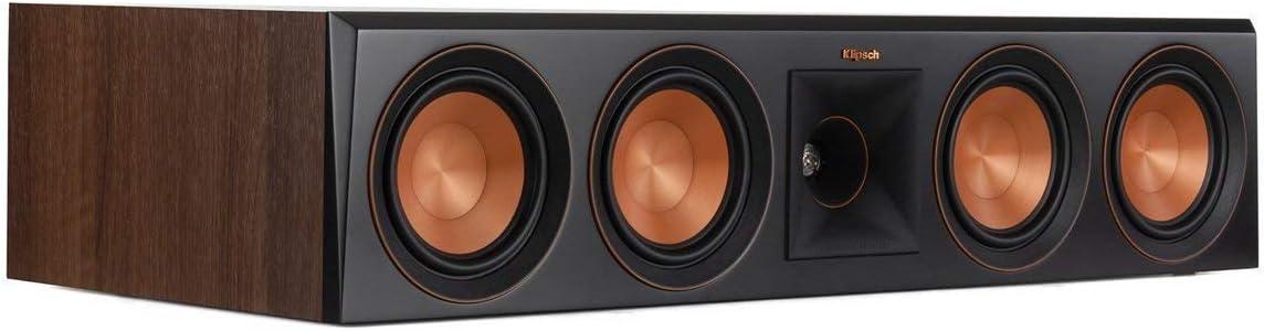 Klipsch RP-504C Center Channel Speaker Walnut Renewed