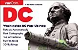 Pop-Up Washington DC Map by VanDam - City Street Map of Washington DC - Laminated folding pocket size city travel and transit map (Pop-Up Map), 2017 Edition