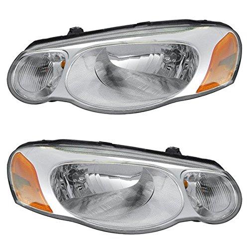 04 Chrysler Sebring Sedan Headlight - 4