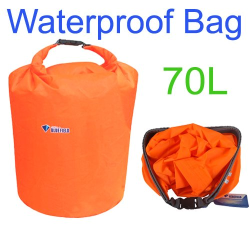 Constructan(TM) 70L Outdoor Waterproof Dry Bag for Canoe Kayak Rafting Camping Size L by Constructan (Image #1)