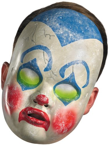 Clown Baby Doll Mask Costume Accessory