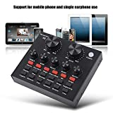 Tangxi Live Sound Card, Voice Changer Device for