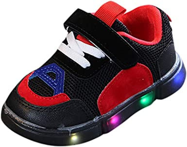 LED Trainers Fashion Sneakers Children