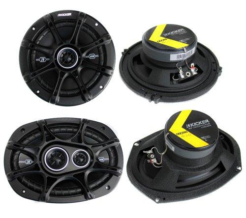 4 car door speakers - 6