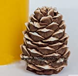 silicone pine cone 3D handmade soap candle cake decoration mold