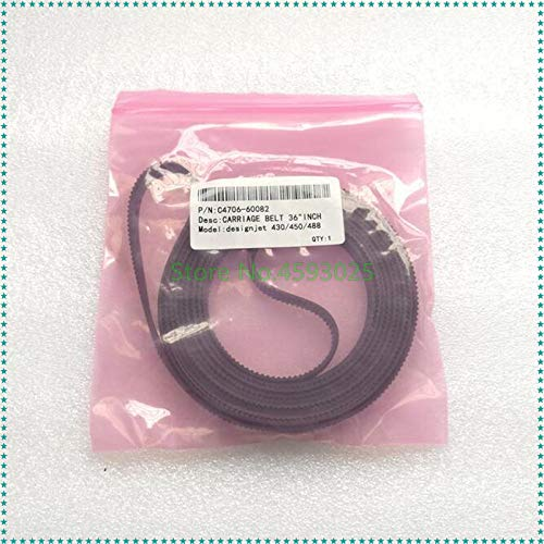 Printer Parts 36 inch A0 New Plotter Carriage Belt C4706-60082 for HP designjet 230 250 350 430 450C 455 488 700 750 755 Plotter Spare Parts