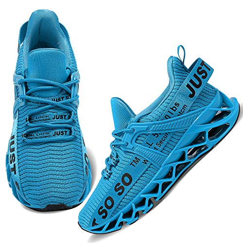 Wonesion Womens Walking Running Shoes Athletic Blade Non Slip Tennis Fashion Sneakers