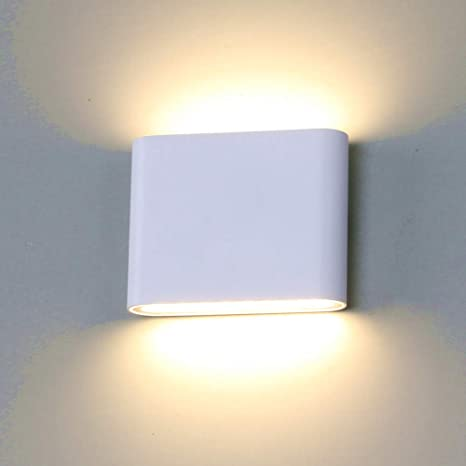 12W LED Wall Light Waterproof IP65 Modern Porch Lamp AC85-265V Outdoor Garden On