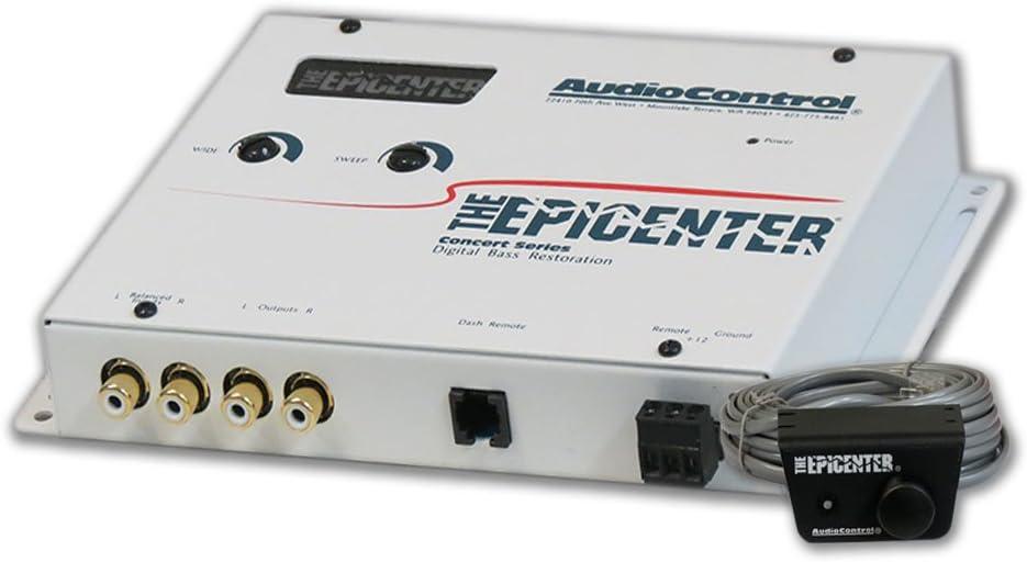 Audiocontrol Epicenter Epicenter Car Audio Digital Bass Equalizer White