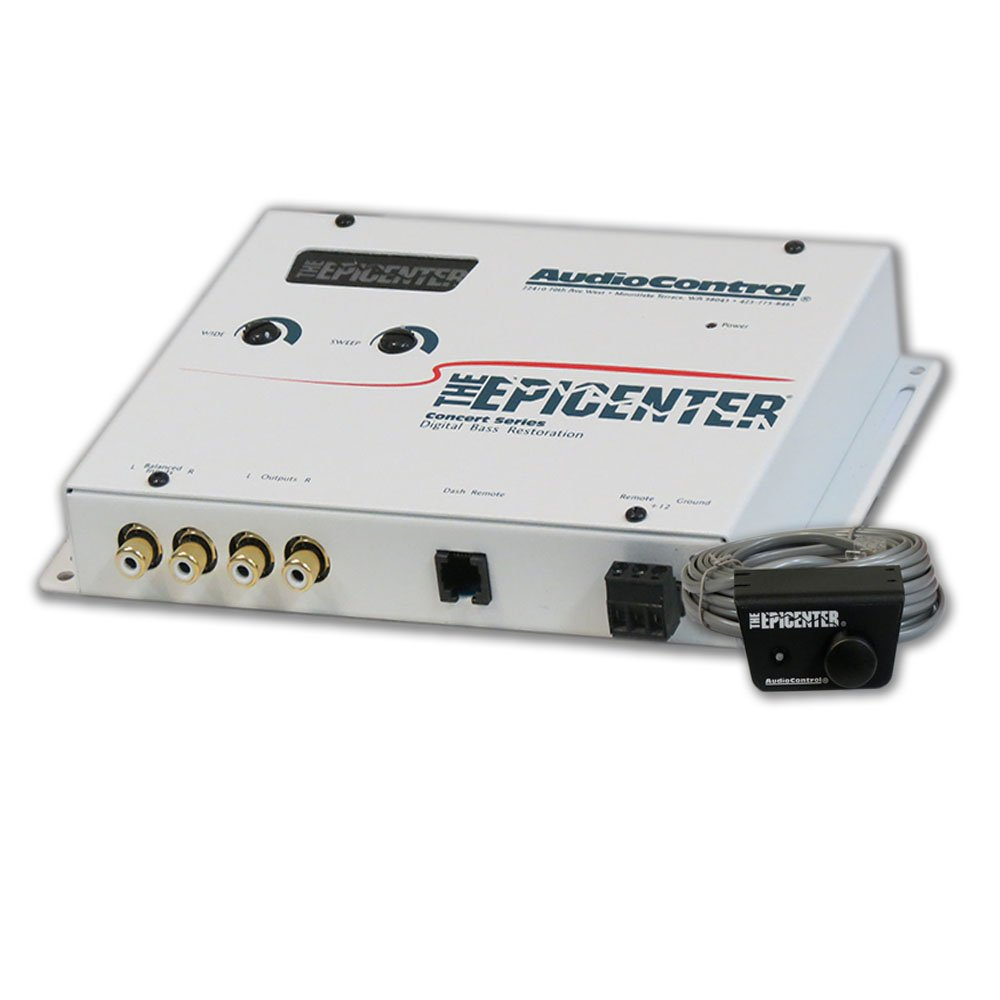Audiocontrol Epicenter Epicenter Car Audio Digital Bass Equalizer White by AudioControl